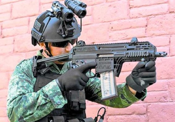 The army-designed PAX-100 automatic pistol is about to go into production.