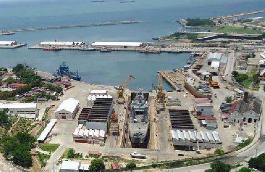 The Pacific port of Salina Cruz.