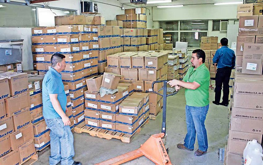 Medical supplies are running short at eight Chihuahua hospitals.