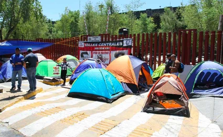 Teachers' camp last week in Mexico City.