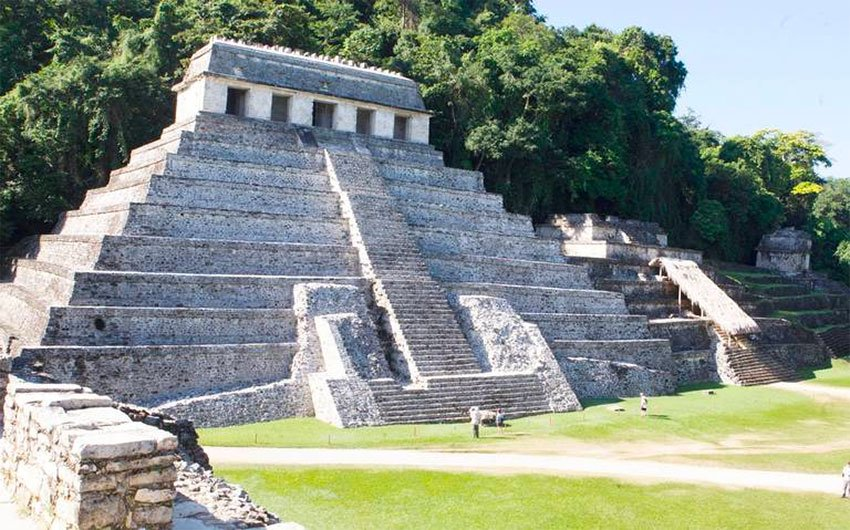 Palenque was one site that saw an increase in visitors.