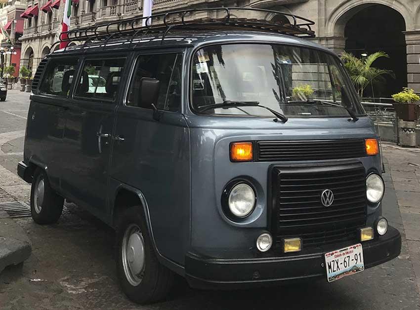 Matilda 70's VW van, called La Chata