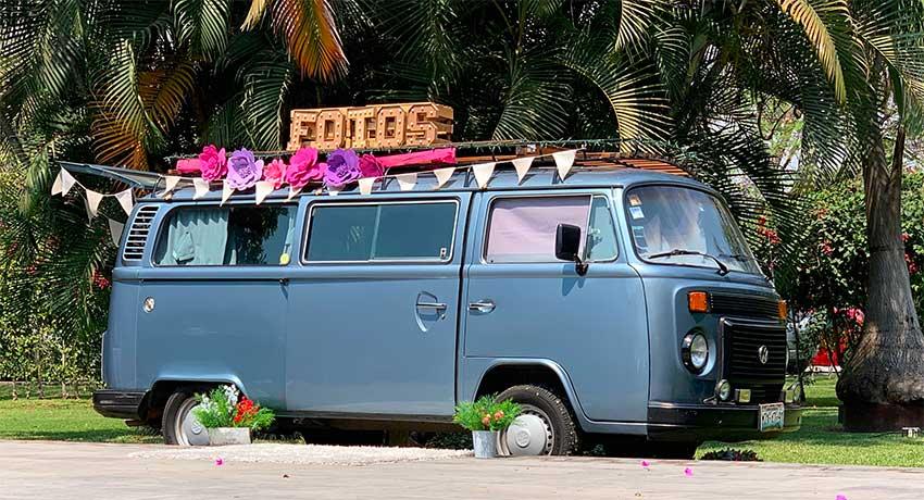 A Matilda 70 VW wedding.