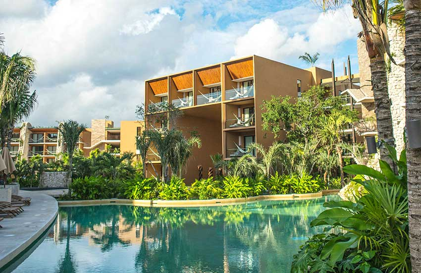 Hotel Xcaret, the first of 10.