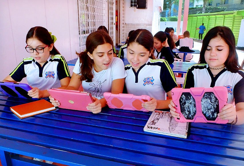 At Colegio IMI in Guadalajara, every student has an iPad.
