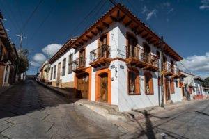 A street corner in El Cerrillo, one of Mexico's oldest neighborhoods.