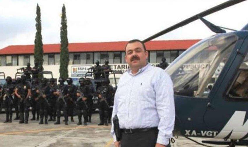 Édgar Veytia was attorney general under Sandoval.