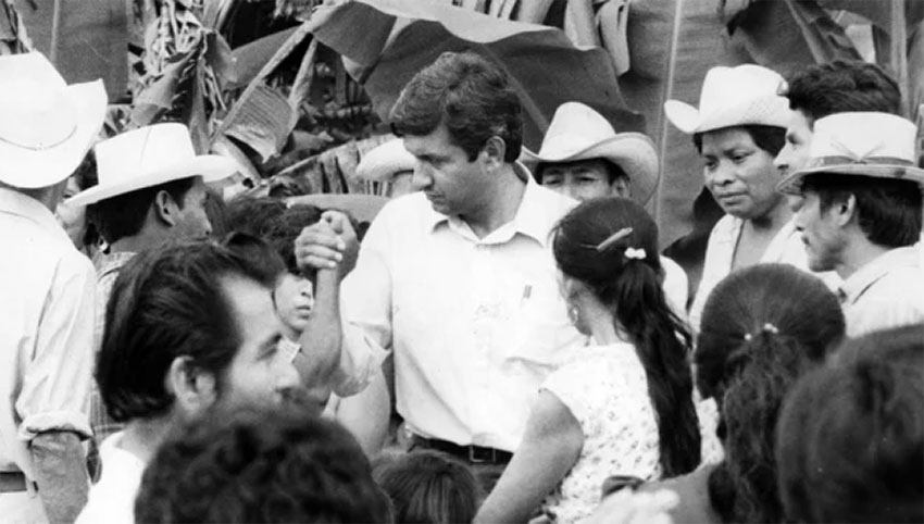 López Obrador in 1995, when he called on citizens to refuse to pay their electricity bills.