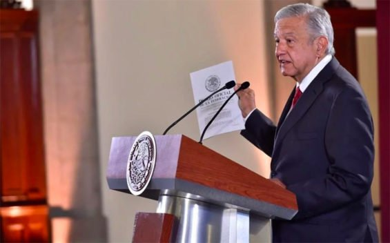 AMLO is not worried by low growth in first quarter.