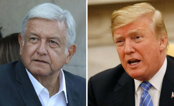 López Obrador and Trump will meet in July.