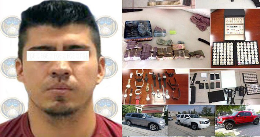 Suspected cartel leader arrested in Celaya