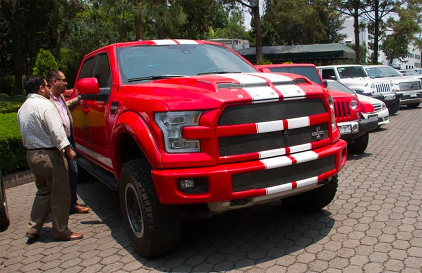 2016 Ford Shelby F-150.