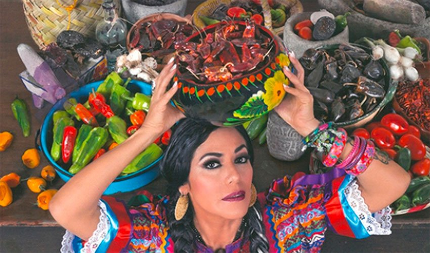 Lila Downs' new album: dedicated to the chile.