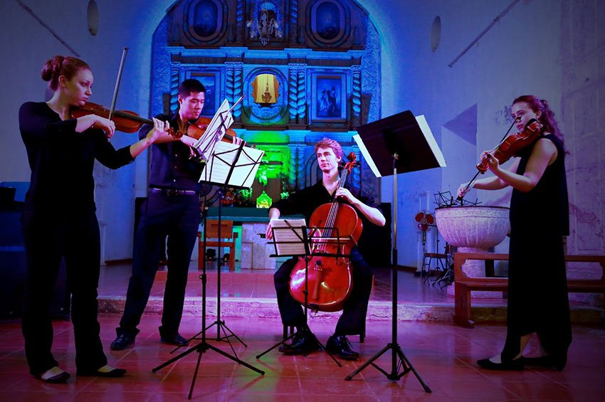 The Angelos State University String Quartet will be among the festival's performers.