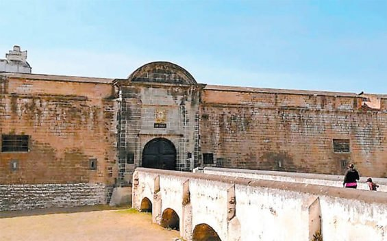 The 18th-century fortress that needs extensive repair work.
