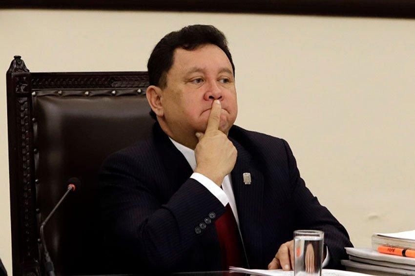 Anti-abortion Deputy Granados.