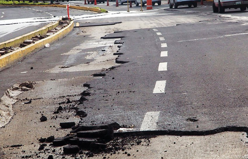 The government has earmarked 20 billion pesos to fix things like this.