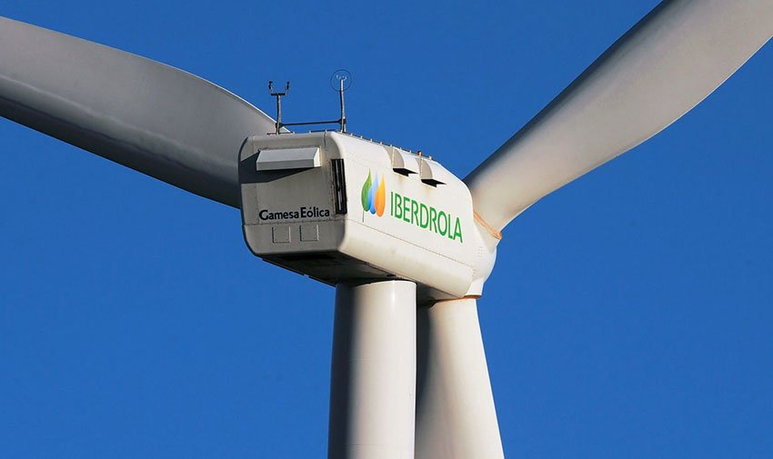 Two wind farms are part of Iberdrola investment.