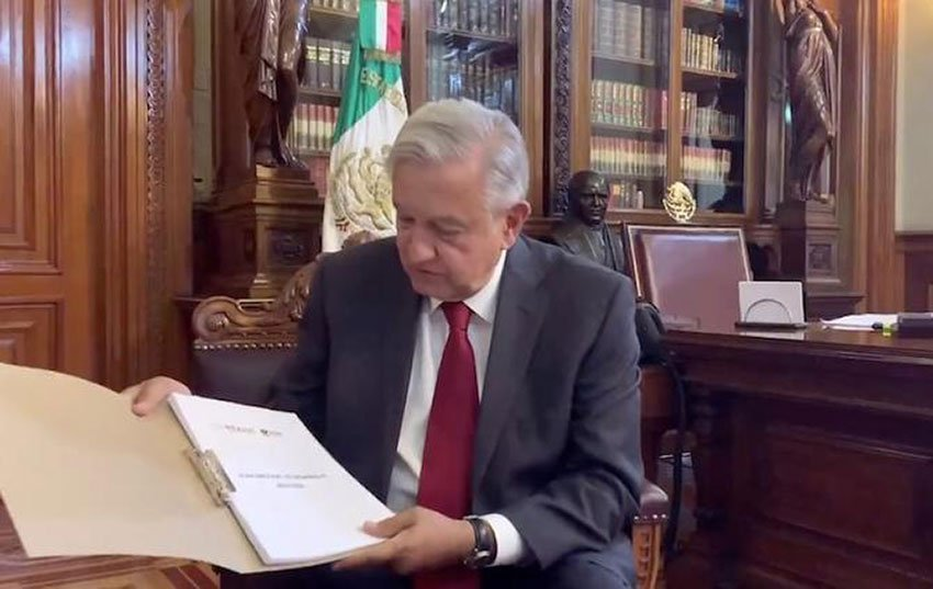 López Obrador and the new development plan.