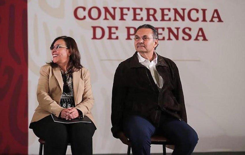 Energy Secretary Nahle and Pemex boss Romero will build new refinery.
