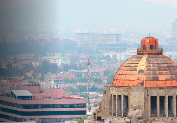 Smog continues to envelop Mexico City.