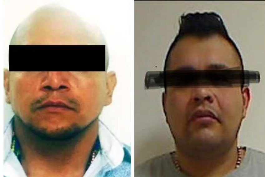Flores, left, and Ramírez are leaders of rival Mexico City gangs.