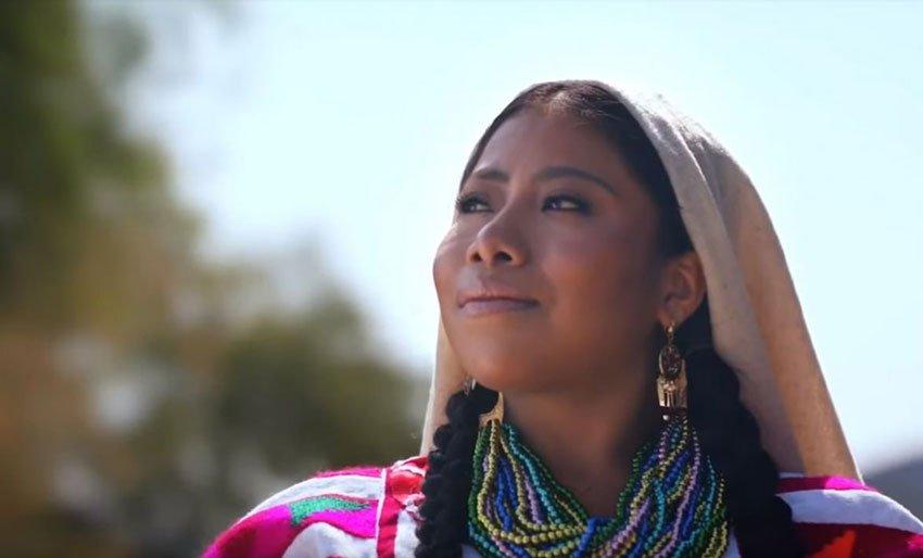 Yalitza Aparicio invites the world to Oaxaca's Guelaguetza.