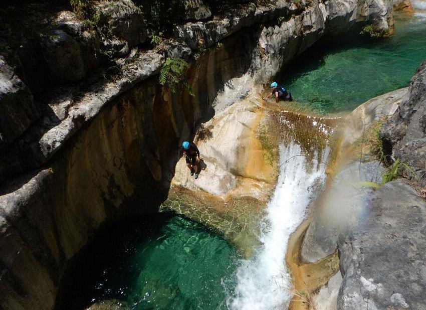 Matacanes Canyon, near Monterrey in Nuevo León.