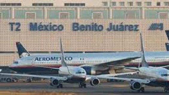 Terminal 2 at AICM.