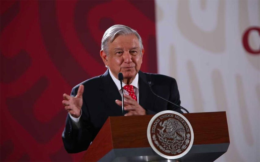 López Obrador charged that the sargassum invasion has been a fabricated emergency.