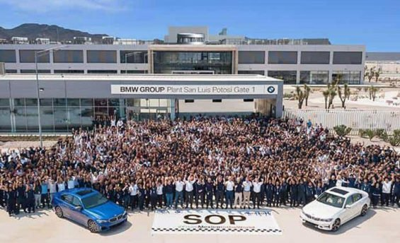 Wednesday's opening of BMW's new plant.