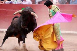 A Mexican bullfight