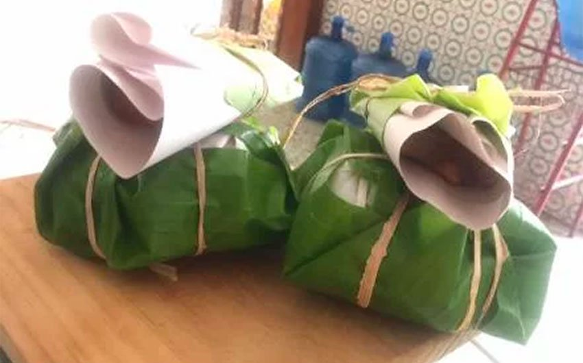 Wrapped and ready for delivery.
