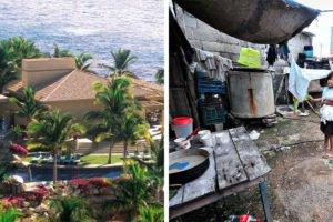 Contrasts in Los Cabos.