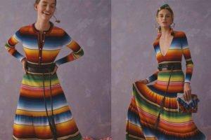 Design described as originating in Saltillo, Coahuila.