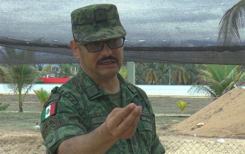 Major Godoy, responsible for saving turtles.
