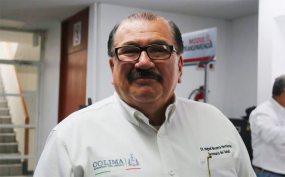 Colima's ex-secretary of health.