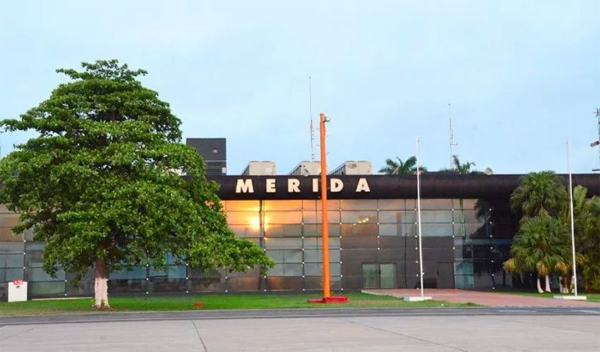 Mérida's airport could be relocated to the south of the city.