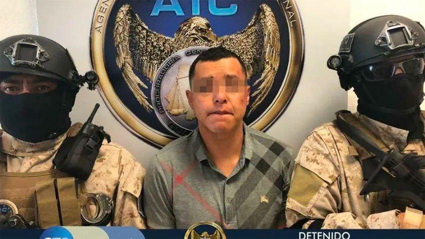 Suspected cartel leader 'El Metra.'