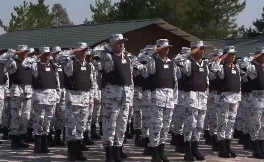 The National Guard will be out in force starting June 30.