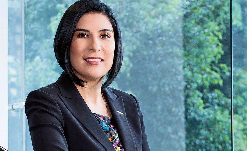Mayra González, Nissan's new head of global sales.