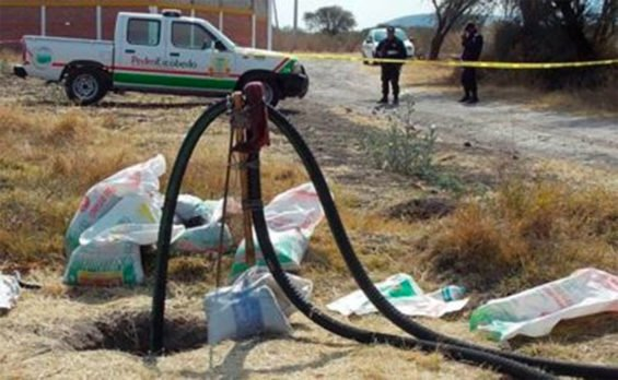 Fuel theft on the decline.