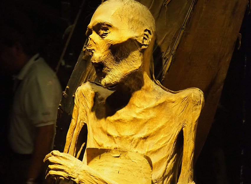 Juan Jamarillo is the most perfectly preserved mummy in Guanajuato's famous mummy museum.