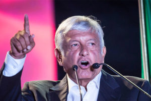 AMLO the corruption fighter represents hope for all Mexicans.