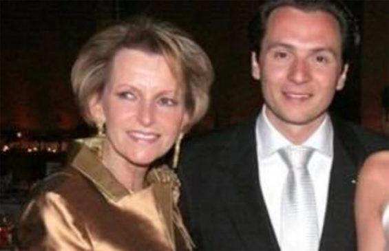 Austin, left, and her son, Emilio Lozoya.