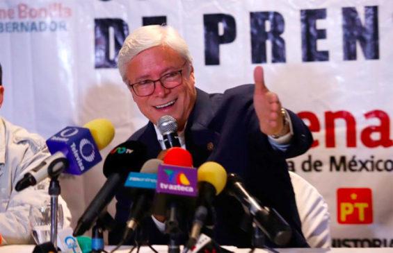 Governor-elect Bonilla.