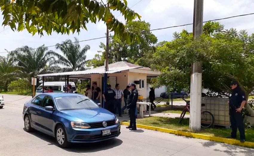 Scene of the Tabasco shooting.