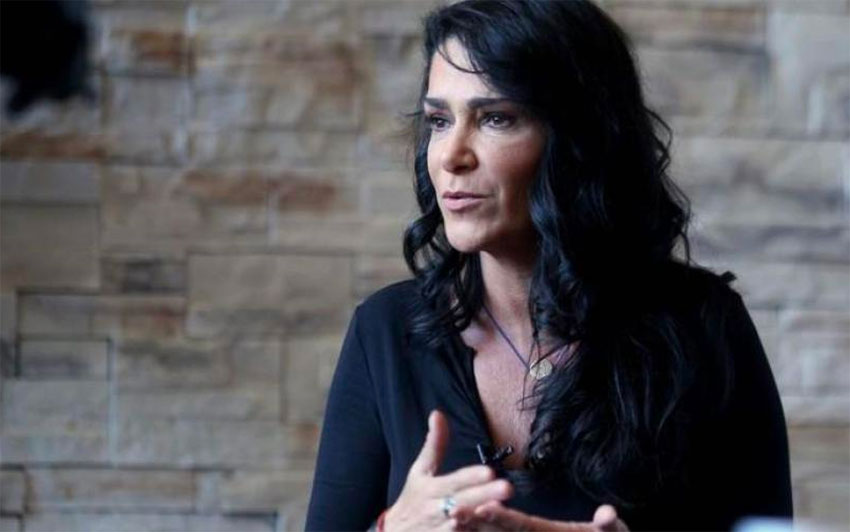 Journalist and activist Lydia Cacho.
