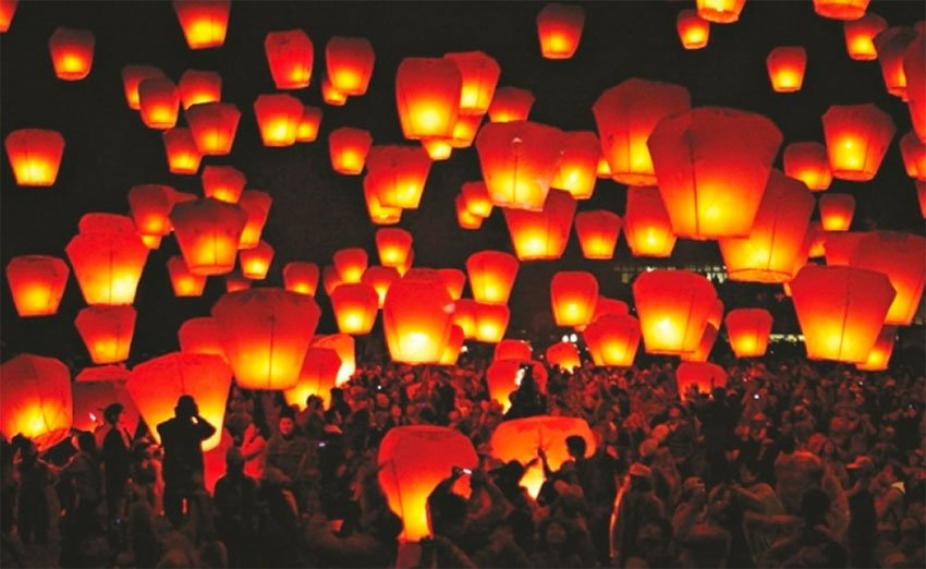 Cantoya balloons will fill the sky above Pátzcuaro next week.