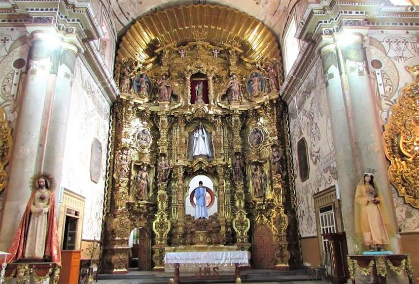 Templo San Felipe Neri in Oaxaca city